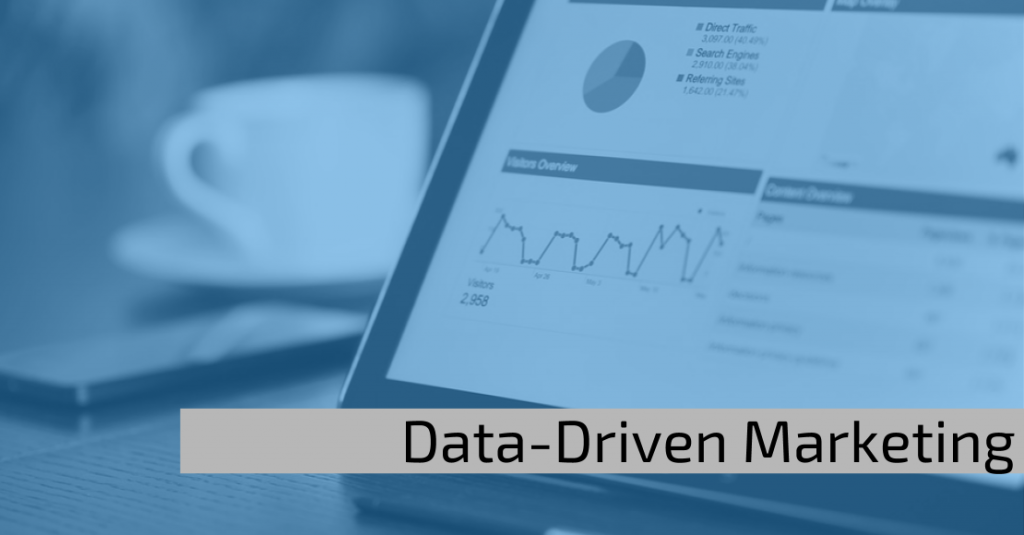Data-driven marketing: Cover Image