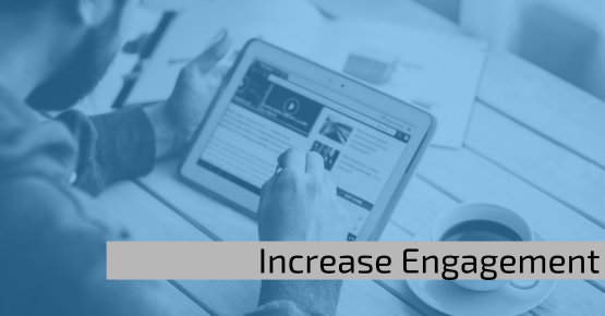Web analytics - Increase engagement